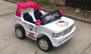Hello Kitty 12V (Up to 5mph) 2 Seat Power Wheel for Sale in Monrovia, MD