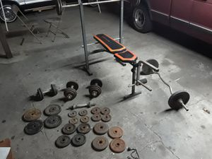 Gym weights for Sale in South Gate, CA