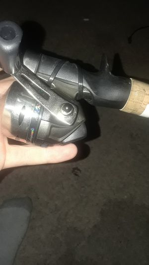 Micro cast Shakespeare fishing pole and rod for Sale in Mesquite, TX