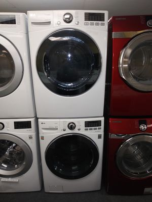 👍👍 LG electric front load set washer and dryer in exellent condition for Sale in Laurel, MD