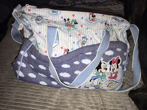 Disney baby diaper bag for Sale in Des Moines, WA