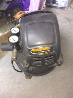 Rockford air compressor. 1 gallon and quiet for Sale in Haines City, FL
