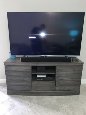 Media center/ entertainment center/ tv Stand for Sale in Riverview, FL