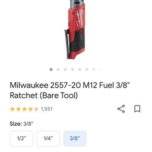 Milwaukee M12 3/8 Ratchet for Sale in Troutdale, OR