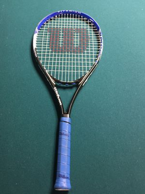 Wilson titanium power bridge tennis racket for Sale in Howell, NJ