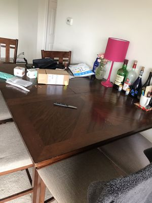 Dining Table with 6 Chairs for Sale in Falls Church, VA