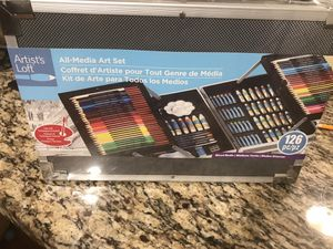 Artist loft art set 126 pc for Sale in Schaumburg, IL