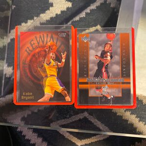 2 Basketball Cards / Kobe, Wade for Sale in Gilroy, CA