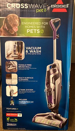 Cross wave Bissell pet vacuum and wash for Sale in Douglasville, GA