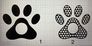 Paw Decals for Sale in Victoria, TX