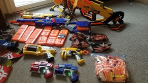 Nerf guns and accessories for Sale in Essex, MD