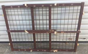Brown Wood Pet Dog Sliding Door for Sale in San Diego, CA