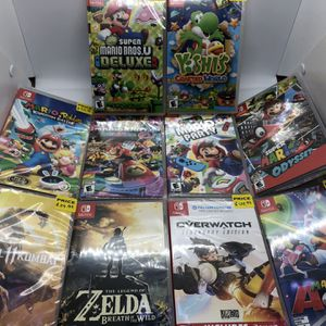 GAMES Nintendo switch Prices Star $$$45 To $$$55 for Sale in Hialeah, FL