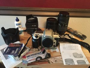 Nikon SLR and full hobbyist kit for Sale in Sugar Land, TX