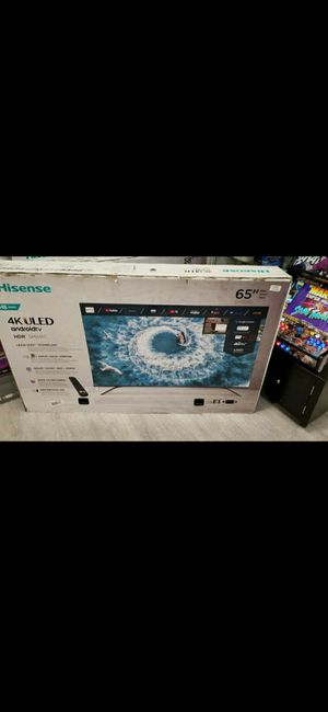 65 inch 4k smart tv 240hrz frame less for Sale in Montclair, CA