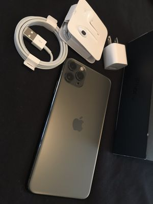 Apple iPhone 11 pro Max 512 GB Space Gray Unlocked I can deliver for Sale in Fremont, CA