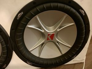 6 KICKER CVR Subwoofer 12 inch for Sale in Fairfax, VA