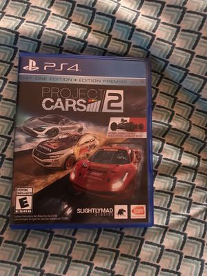 PS4 - Project Cars 2 for Sale in Sanford, FL