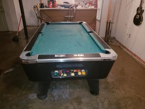 7ft slate top pool table for Sale in Detroit, MI