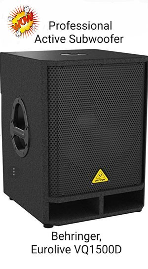 """Professional Active subwoofer 15"""" for Sale in Hialeah, FL"""