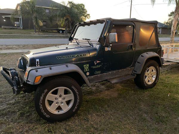 98 Jeep Wrangler tj sport