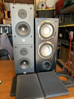 JBL SATELLITE SPEAKERS AND Digital Audio powered sub for Sale in Columbus, OH