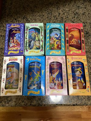 1994 BURGER KING-DISNEY COLLECTOR GLASSES (Complete set of 8) Plus color of the wind collection (complete set of 4) for Sale in Happy Valley, OR