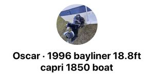 1996 Bayliner boat and trailer for Sale in Tampa, FL