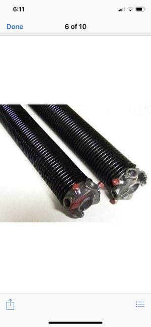 Garage Door Springs Set, Made in USA. for Sale in Upland, CA