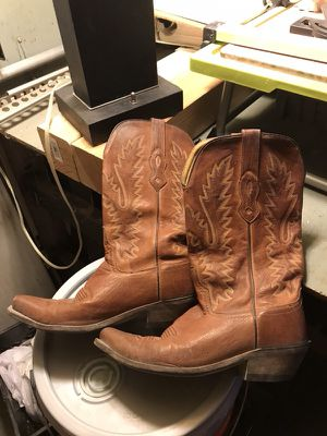 Old West Leather Cowboy Boots for Sale in Cleveland, OH