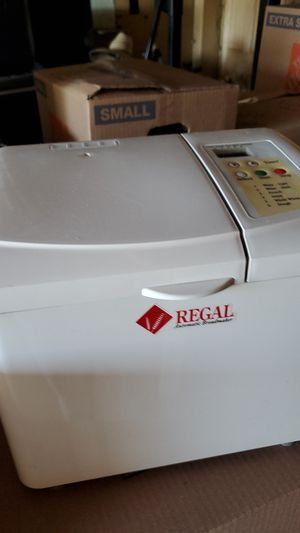 Regal bread maker for Sale in Montclair, CA