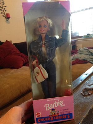 Barbie chucke cheeses special edition 1995 for Sale in Richmond, TX