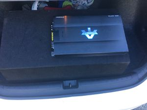"""12""""American bass sub with amplifier for Sale in Boston, MA"""