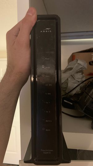 Arris Touchstone tg2472 modem /router 2 in one for Sale in Hesperia, CA