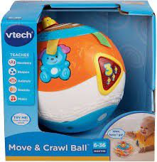 New, in box-VTech Move and Crawl Ball, Orange for Sale in Vero Beach, FL