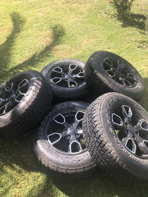 Jeep tires and rim for Sale in Woodland, CA
