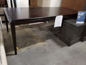 New dining table with leaf tax included delivery available for Sale in Hayward, CA