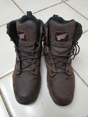 Near New Red Wing steel Toe work boots 8.5 Hiking boots for Sale in Hayward, CA