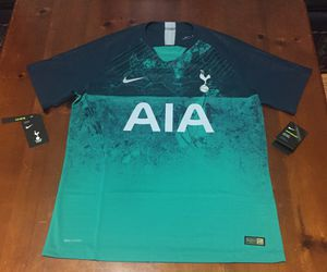 💯 AUTHENTIC NIKE VaporKnit TOTTENHAM HOTSPUR 18-19 THIRD JERSEY SIZE LARGE NEW WITH TAGS Supreme Deal!!!! $35 FIRM ON PRICE for Sale in Raleigh, NC