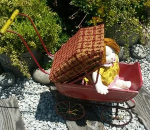 Antique wood doll Buggy for Sale in Norco, CA
