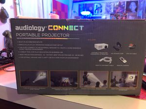 Audiology Connector Portable Projector for Sale in Tucson, AZ