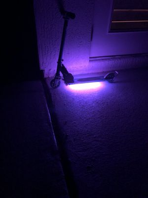 Remote Controlled LED Scooter Lights for Kids and Adults 20 Colors with Motion Options for Sale in Jacksonville, FL