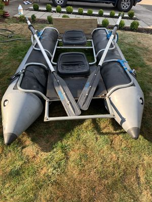 Pontoon fishing boat 2 person 10' for Sale in Oregon City, OR