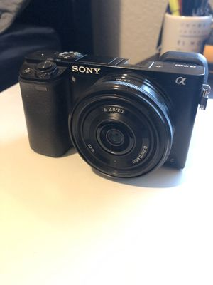 Sony A6000 with SEL20F28 lens for Sale in Houston, TX