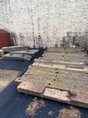 Concrete Parking Lot Blocks for Sale in Warminster, PA