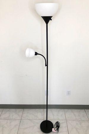 $25 NEW LED 2-Light Floor Lamp 6ft Tall w/ Adjustable Tilt Light Fixtures Home Living Room Office for Sale in Pico Rivera, CA