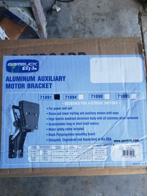 BRAND NEW ALUMINUM OUTBOARD MOTOR BRACKET IN THE BOX for Sale in West Melbourne, FL