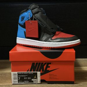 "Jordan 1 Retro High ""NC to CHI"" (Size W 7 / M 5.5) for Sale in San Leandro, CA"