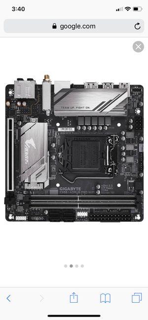 Z390 itx motherboard aorus pro WiFi for Sale in Margate, FL