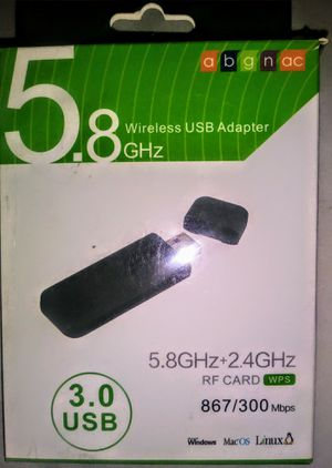 Brand New Dual Band Wireless USB Adapter for Sale in Richmond, VA